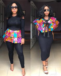 1 or Don't you just love this two In one Belt that Can also be worn as cape on a dress 😍😍let's know your preferred look BELT or… African Dresses For Women, African Print Dresses, African Attire, African Wear, African Women, African Prints, African Fashion Ankara, African Print Fashion, Africa Fashion