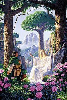 Gift of the Elf Queen, Greg Hildebrandt