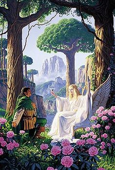 Gift of the Elf Queen, Greg Hildebrandt