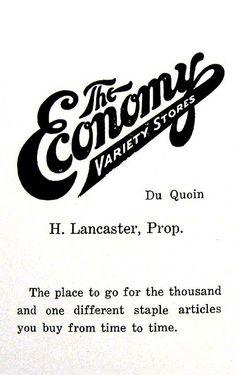 IL-Du Quoin - Economy logo by plasticfootball, via Flickr