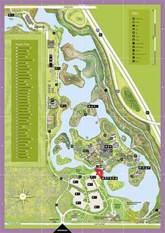 Chicago Botanic Garden Map