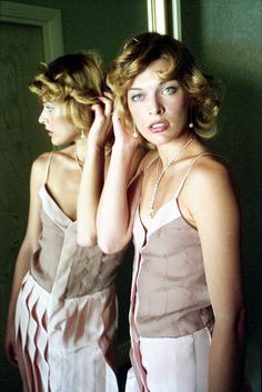 Milla Jovovitch par Willy Rizzo, Cannes, 2002