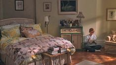 "Meg Ryan studio apartment in ""You've got Mail"". Bedroom area"