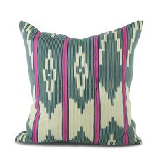 Embroidered African Pillow II