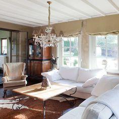 8 beste afbeeldingen van Landelijke woonkamers - Living Room, Design ...