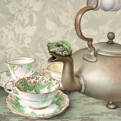 'Tea Frog' by Cori Lee Marvin