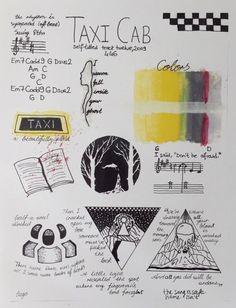 taxi cab - twenty one pilots Tyler Joseph, Tyler And Josh, Clique Art, Emo, Twenty One Pilots Lyrics, Fanart, Indie, Music Tattoos, My Chemical Romance