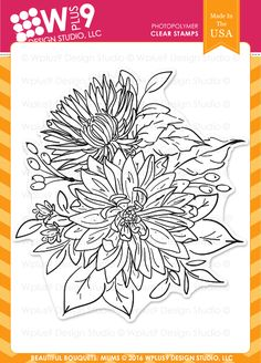 Featuring high quality photopolymer clear stamps and supplies for crafting.