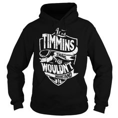 It is a TIMMINS Thing - TIMMINS Last Name, Surname T-Shirt