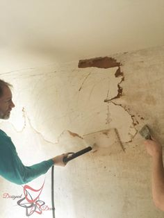 Easy Method Wall Paper Removal-HomeRight-Steam Machine Plus- Steam Cleaning Easy To Remove Wallpaper, Removing Old Wallpaper, Painting Over Wallpaper, Diy Wallpaper, Plaster Walls, All Paper, Steam Cleaning, All The Way Down, Off The Wall