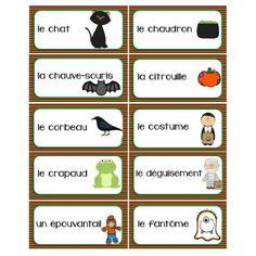 Mots-étiquettes Halloween / automne