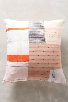 Ace & Jig Patched Pillow | anthropologie.com