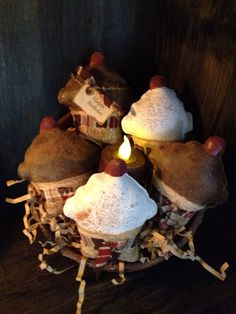 Hey, I found this really awesome Etsy listing at https://www.etsy.com/listing/154650789/primitive-cupcakes-bowl-fillers