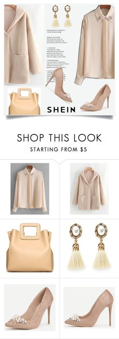 """Shein 1/XVI"" by mirelaaljic ❤ liked on Polyvore"