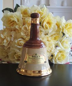 Whiskey Decanter Bell's Scotch Whiskey Mid Century by RamblinRanch, $22.00