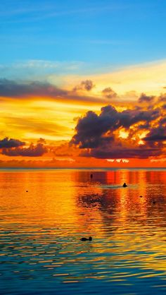 ✯ Sunset over Guam, Pacific Ocean