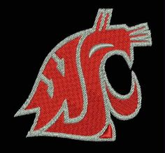 Washington State Cougars Embroidered Patch