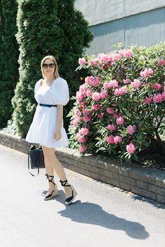 3 x puhvihihat   pinjasblog White Dress, Blog, Dresses, Fashion, Vestidos, Moda, Fashion Styles, Blogging, Dress