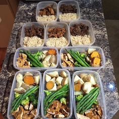 Love seeing the #mealprep community come out strong on the first #mealprepsunday of the new year. 2016 is going to be a life changing year for so many of you and we're so thankful to be a part of it.  Here is a 2 part prep idea from @eatright.workhard   Meal 1:  Piri piri chicken   boiled white and sweet potato   Broccoli and asparagus  Meal 2:  Beef marinaded in soy sauce chilli oil mustard honey garlic and onion   Brown rice  #mealprep #mealprepsociety #eatclean #fitspo #goals #diet…