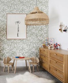 Three Birds Renovations – Bonnies Traumhaus – Kinderzimmer - Home Diy Projects Kid Room Decor, Decor, Kids Room Wallpaper, Three Birds Renovations, Kids Interior, Home Decor, Boy Room, Room Decor, Room Wallpaper