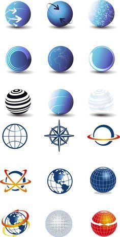 earth logo design free | ... logo, .AI-- Download Free Vectors Psd Flash 3DModels --www.YouToDesign