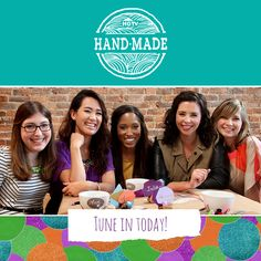 Introducing HGTV Handmade! (http://blog.hgtv.com/design/2014/01/06/introducing-hgtv-handmade/?soc=pinterest)