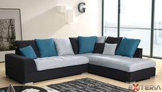 Originálna rohová sedacia súprava Alesia s vankúšmi #sofa #settee #divan #couch