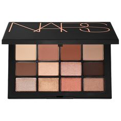 Shop NARS's Skin Deep Eyeshadow Palette at Sephora. An ultimate multiuse palette created for all skin tones, with 12 neutral shades. Nars Eyeshadow Palette, Sephora Eyeshadow, Eyeshadow Makeup, Colourpop Eyeshadow, Matte Eyeshadow, Korean Eyeshadow, Makeup Kit, Makeup Tools, Skin Makeup