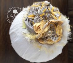 A personal favorite from my Etsy shop https://www.etsy.com/listing/265394107/shabby-chic-couture-collection-mustard