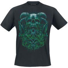 Reincarnation - T-Shirt van EMP Rock Skulls - Artikelnummer: 261185 - vanaf 15,99 € - Large Popmerchandising
