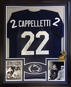 John Cappelletti Framed Jersey Signed JSA COA Autographed Penn State Heisman Mister Mancave http://www.amazon.com/dp/B01622Q972/ref=cm_sw_r_pi_dp_Kxtrwb1AXR6EN