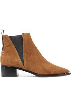 Acne Studios | Jensen suede ankle boots | NET-A-PORTER.COM