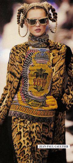 KATE MOSS,  Jean Paul Gaultier ~ A/W 1994