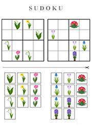 Sudoku à imprimer pour classes de maternelle