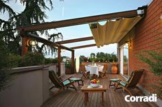 Removable Covering Terrace Ideas