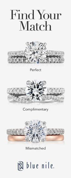 We're here to help you find the perfect wedding band. Shop our wide selection of white gold, rose gold, yellow gold, diamond & gemstone rings to compliment your engagement ring.