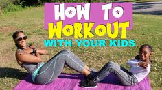 WORKOUT FOR KIDS AND PARENTS   COLLAB WITH KJ TAKEOVER   CHINACANDYCOUTU...