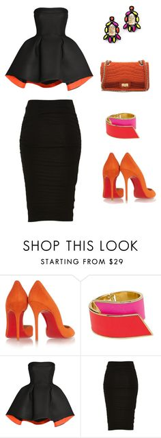 """Untitled #191"" by onellaonella ❤ liked on Polyvore featuring Christian Louboutin, CC SKYE, Parlor and Chanel"