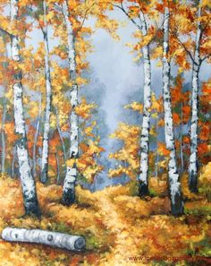 Value of creativity and creative fall paintings