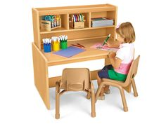 Heavy-Duty Space-Saver Writing Center at Lakeshore Learning