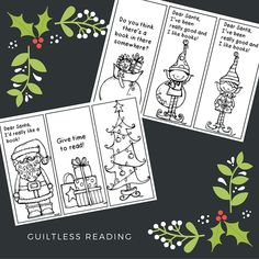 #BookmarkMonday (224): #Free printables for a Merry Christmas! / guiltless reading
