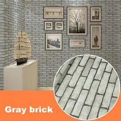 Modern Waterproof Self-adhesive Brick Stone Style 3D Wallpaper  #Kitchen #WallDecor #Gifts #HOME #Bathroom #textureandstylehomemarket #SALE #WallArt #ART #HomeDecor