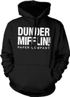 PLEASE!! :) Amazon.com: Dunder Mifflin Paper Inc Sweatshirt, The Office Hoodies, TV show Sweatshirts: Clothing