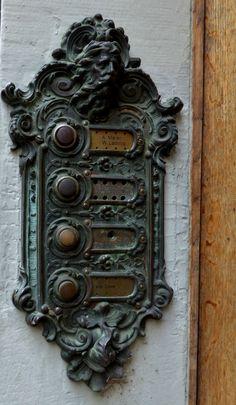 Obsession..ornate door furniture