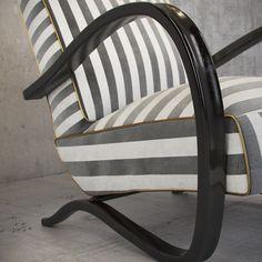 Life in the style of Halabala. Halabala chair by Banannachair. Chair, Life, Furniture, Home Decor, Style, Recliner, Homemade Home Decor, Home Furnishings, Decoration Home