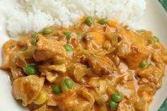 Kip in roomsaus met prei en champignons - De keuken van Ursie