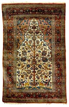Persian Rugs: Guide to Mohtashem Kashan Rugs and Carpets