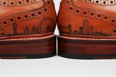 Grooms Shoes - Sweeney Shoe Tattoo