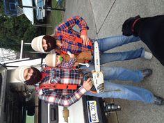 Lumberjack Halloween Costume! Minus the lady beard and Andrew already has one lol!!
