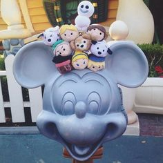 The Tsum Tusms have come out to play! #ToonTown (Photo: @frncissdominc)